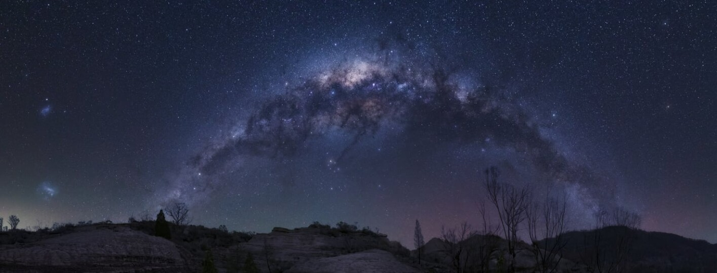 Milky Way at Wollemi National Park where to see the milky way best places