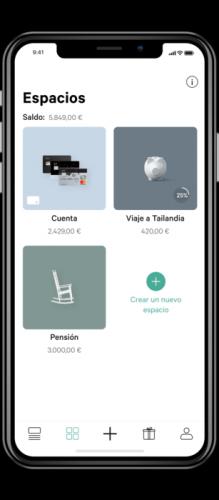 espacios de ahorro en n26 mejor tarjeta para pagar en otras monedas